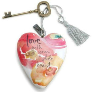 Love With Your Whole Heart Art Heart 1003480058